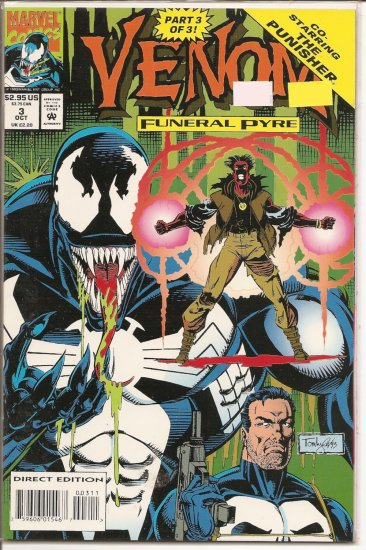 Venom: Funeral Pyre # 3, 9.4 NM