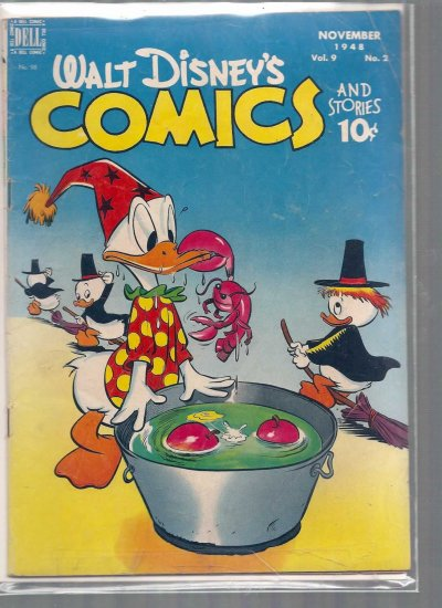 WALT DISNEY COMICS AND STORIES # 98, 4.5 VG +