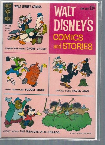 WALT DISNEY COMICS AND STORIES # 265, 7.5 VF -