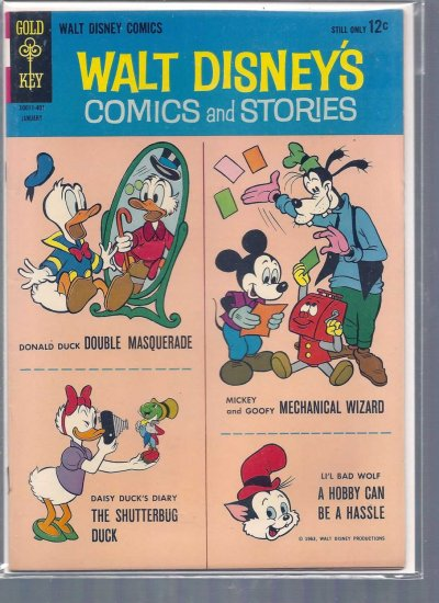 WALT DISNEY COMICS AND STORIES # 280, 6.0 FN