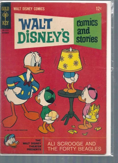 WALT DISNEY COMICS AND STORIES # 302, 5.0 VG/FN