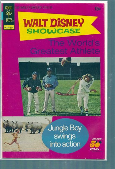 WALT DISNEY SHOWCASE THE WORLD'S GREATEST ATHLETE # 14, 5.5 FN -