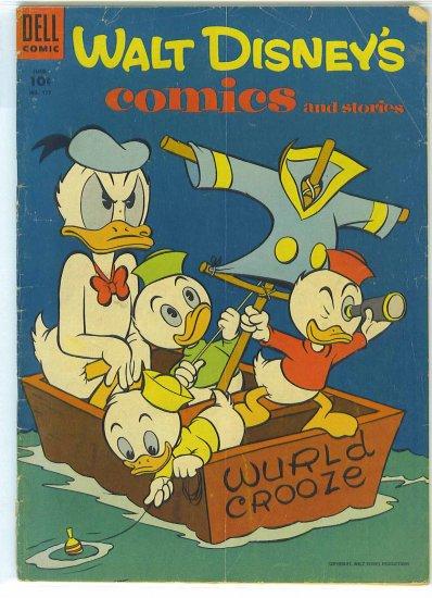 Walt Disney's Comics And Stories # 177, 2.5 GD +