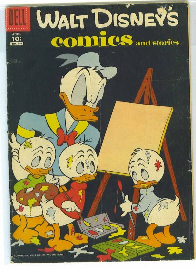 Walt Disney's Comics And Stories # 199, 2.5 GD +