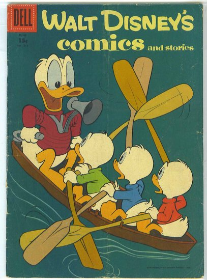 Walt Disney's Comics And Stories # 213, 3.5 VG -