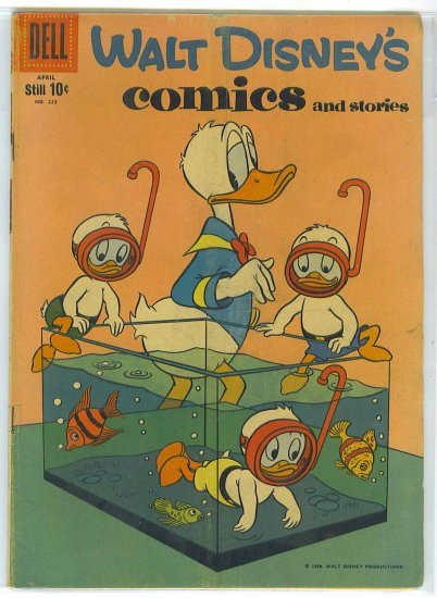 Walt Disney's Comics And Stories # 223, 3.5 VG -