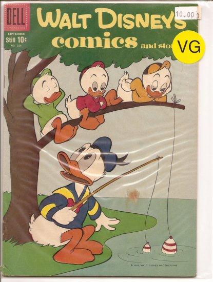 Walt Disney's Comics and Stories # 228, 4.0 VG