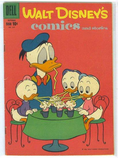 Walt Disney's Comics And Stories # 229, 4.5 VG +