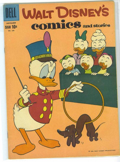 Walt Disney's Comics And Stories # 230, 4.5 VG +
