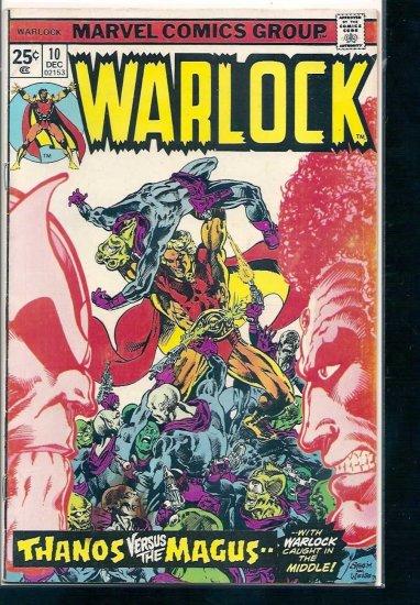 WARLOCK # 10, 3.0 GD/VG