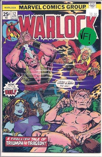 Warlock # 12, 8.0 VF