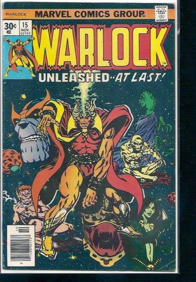 WARLOCK # 15, 4.0 VG
