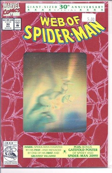 Web Of Spider-Man # 90, 9.4 NM
