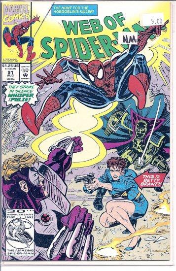 Web Of Spider-Man # 91, 9.4 NM