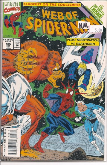 Web Of Spider-Man # 105, 9.4 NM