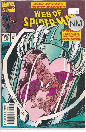 Web Of Spider-Man # 115, 9.4 NM