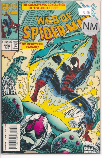 Web Of Spider-Man # 116, 9.4 NM