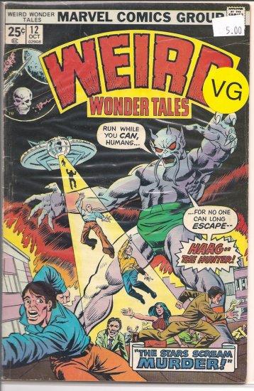 Weird Wonder Tales # 12, 4.0 VG