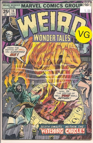 Weird Wonder Tales # 14, 4.0 VG