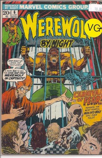 Werewolf By Night # 6, 4.5 VG +