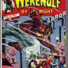 WEREWOLF BY NIGHT # 23, 7.5 VF -