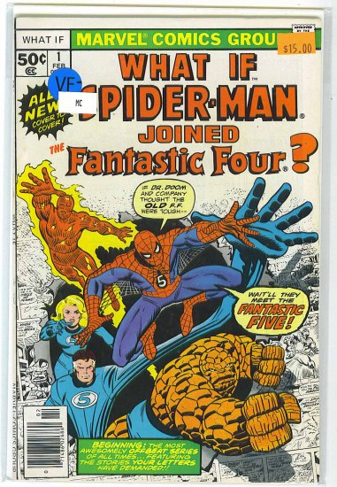 What If? # 1, 7.5 VF -