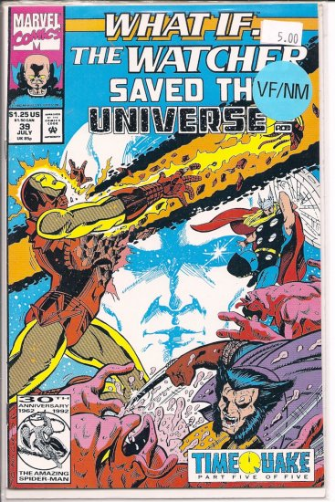 What If�? (2nd series) # 39, 8.0 VF