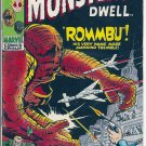 WHERE MONSTERS DWELL # 7, 4.5 VG +