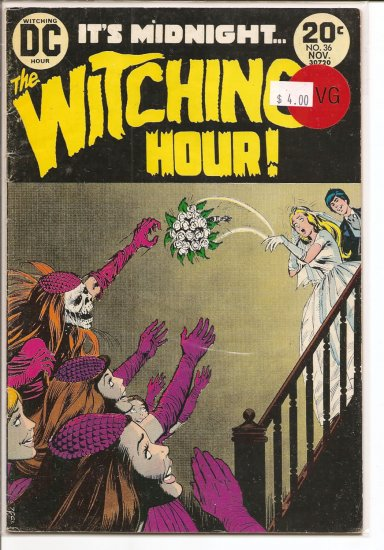 Witching Hour # 36, 4.0 VG
