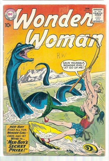 WONDER WOMAN   # 119, 3.5 VG -