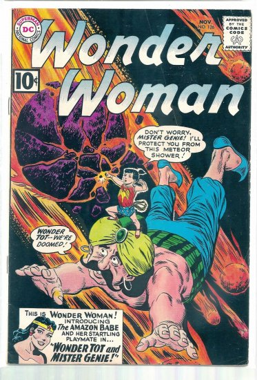 WONDER WOMAN # 126, 4.5 VG +