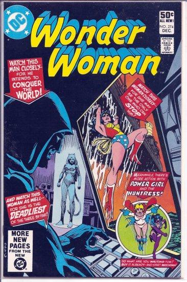 WONDER WOMAN # 274, 9.0 VF/NM