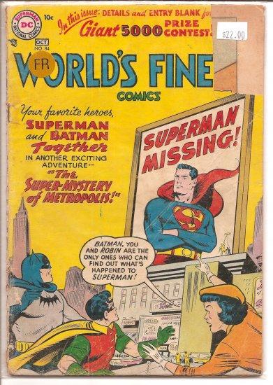 World's Finest Comics # 84, 1.0 FR