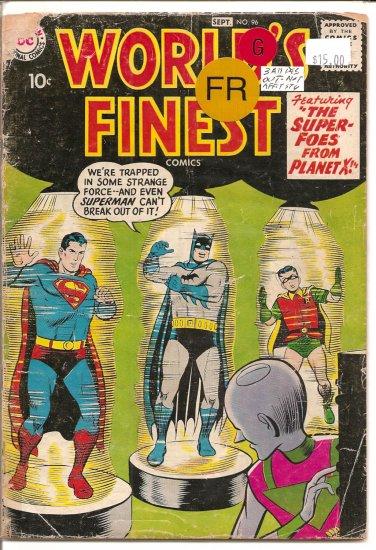 World's Finest Comics # 96, 1.0 FR