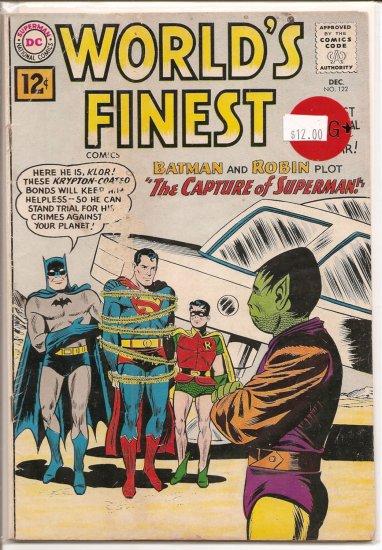 World's Finest Comics # 122, 2.5 GD +