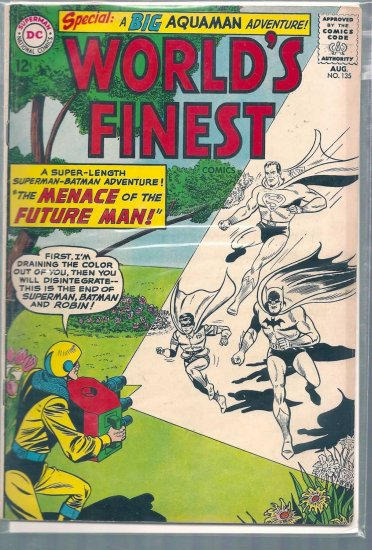 World's Finest Comics # 135, 4.5 VG +