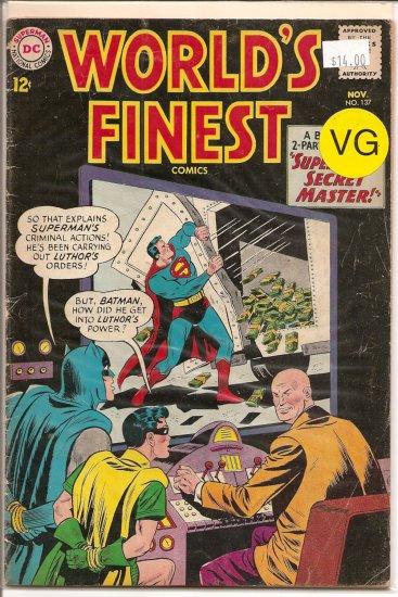 World's Finest Comics # 137, 4.0 VG