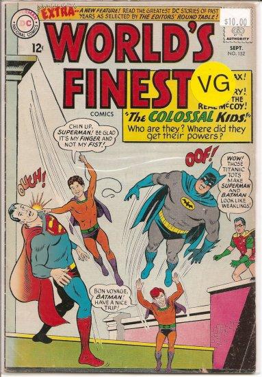 World's Finest Comics # 152, 4.0 VG