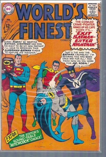 World's Finest Comics # 155, 4.5 VG +
