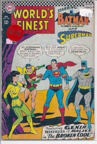 World's Finest Comics # 164, 3.0 GD/VG