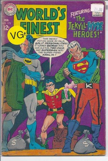 World's Finest Comics # 173, 4.5 VG +