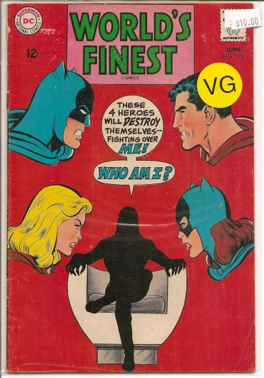 World's Finest Comics # 176, 4.0 VG