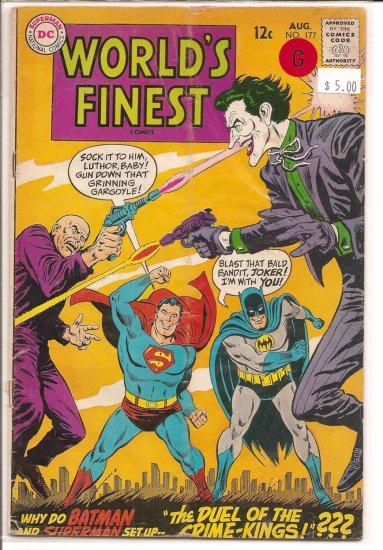 World's Finest Comics # 177, 2.0 GD
