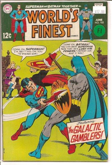 World's Finest Comics # 185, 6.0 FN