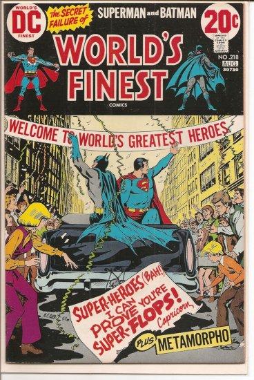 World's Finest Comics # 218, 6.0 FN