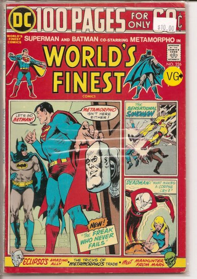 World's Finest Comics # 226, 4.5 VG +