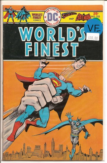 World's Finest Comics # 235, 7.5 VF -