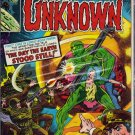 WORLDS UNKNOWN # 3, 7.5 VF -