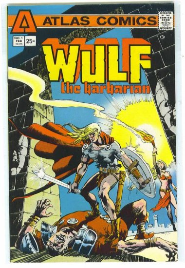 Wulf the Barbarian # 1, 9.0 VF/NM