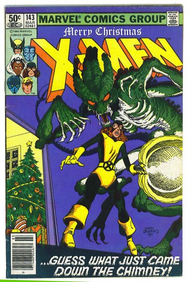 X-Men # 143, 4.5 VG +